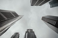 Looking Up 2 (Shane Hebzynski) Tags: buildings architecture singapore city urban outdoors sky clouds