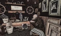 Home (blair.dalton) Tags: thor kustom9 applefall nutmeg shinyshabby anhelo mesh sl secondlife furniture interiordesign interiordecor decorations homeandgarden slhomes shabbychic vintage home