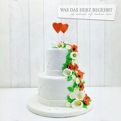 Mini Hochzeitstorte ❤️ #weddingcake #partytorten #dessert #yummy  #casafranco #hochzeitstorten #carambaespecial #hamburg  #wasdasherzbegehrt (Was das Herz begehrt) Tags: weddingcake partytorten dessert yummy casafranco hochzeitstorten carambaespecial hamburg wasdasherzbegehrt