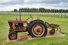 Rusty old tractor standing on the field (Digikuvaaja) Tags: old tractor farm machinery summer meadow farming equipment rural wheel agriculture machine green farmland field countryside grass industry vintage retro rusty nature vehicle work antique landscape agricultural cloud harvest outdoor natural produce ripe pasture outside cultivation rustic metal environment grassland cultivate country broken transportation genuine power scenery