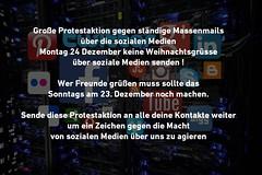 Protestaktion (said.bustany) Tags: facebook spas protest socialmedia 2018 november spruch text