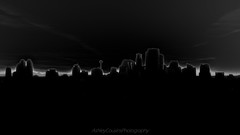 BLACKANDWHITECITYSCAPE-06195 (ashleycousinsphotography) Tags: black white silhouette calgary city cityscape yyc contrast blackandwhite twotone canada alberta