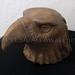 """Bronzed Eagle"" by Natasha H, ceramic, $50.00"