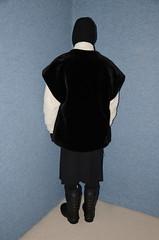 Slave waitress in summer uniform (Warm Clothes Fetish) Tags: girl sweat torture hot niqab hijab coat fur fleece boots warm winter waitress maid apron slave