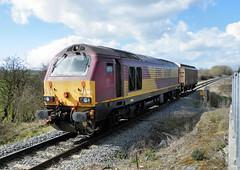 67007 (R~P~M) Tags: train railway diesel locomotive 67 england uk unitedkingdom greatbritain aylesburyvaleparkway aylesbury bucks buckinghamshire dbschenker