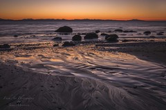 Mystic Beach, Vancouver Island (Freshairphotography) Tags: mysticbeach mysticbeachtrail vancouverisland sunset patternsinthesand reflection afterglow pacificocean pacificmarinecircleroute beautifulbc coast canada colorful naturesart ocean peaceful serene