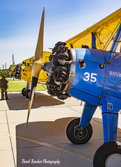2 Stearmans (roscherphotography) Tags: airplane aircraft stearman vintage