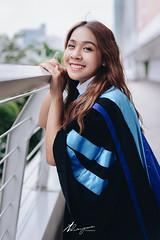 Namtarn (Thanayus Photography) Tags: rehearsal commencement graduate graduation portrait girl beauty university stamford