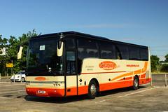 Walls, Higher Ince (GM) - M17 GWY (YJ58 FHV) (peco59) Tags: m17gwy yj58fhv vdl daf sb4000 vanhool alizee wallshigherince grayway graywaycoaches usdepartmentofdefence geldardarmley geldards geldardscoaches psv pcv tannerscroft tannerscroftredditch hardingscoaches hardings hardingsdroitwich coach