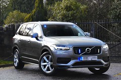 Unmarked Traffic Car (S11 AUN) Tags: police scotland volvo xc90 t6 4x4 exdemo demonstrator unmarked plain covert traffic car divisional roads policing unit drpu anpr rpu trpg trunkroadspatrolgroup 999 emergency vehicle edivision