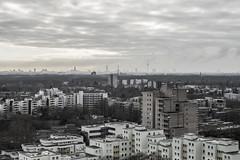 Cologne on the horizon (lars_uhlig) Tags: 2018 köln cologne deutschland germany nrw rheinland stadt city silhouette chorweiler häuser buildings hochhäuser siedlung wolken clouds winter