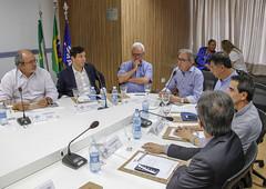 Marcelo Queiroz falou aos conselheiros presentes