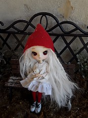 Elfa (Lunalila1) Tags: doll groove dal dotori elf handmade outfit lunalilaclothes dress clothes christmas costura