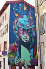 Deih_0842 rue Ulysse Darracq Bayonne [EXPLORED] (meuh1246) Tags: streetart 64 deih rueulyssedarracq bayonne explored inexplore