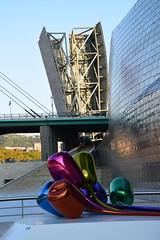 Museo Guggenheim (Bilbao, País Vasco, España, 27-9-2018) (Juanje Orío) Tags: 2018 bilbao vizcaya provinciadevizcaya paísvasco euskadi españa espagne espanha espanya spain europa europe europeanunion unióneuropea museo museum escultura sculpture guggenheim puente bridge