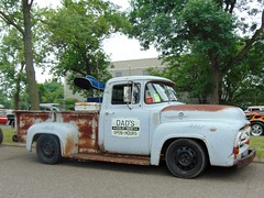 Happy Truck Thursday (novice09) Tags: truckthursday truck backtothefifties carshow ford f250 1956 ipiccy