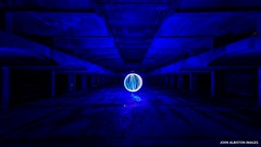 Rhapsody In Blue [Explored 7/1/19! Thank You So Much!] (john&mairi) Tags: stpetersseminary gillespiekiddcoia architecture scotland orb lightpainting nighttime derelict abandoned ruin urbex
