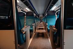 Empty Train (Svend RS) Tags: 1224mm40 fe1224mmf4g sel1224g zoom wideangle ultrawideangle sonyilce7m3 sonya7 alpha a7m3 sonya7lll sonya7mk3 streetphotography