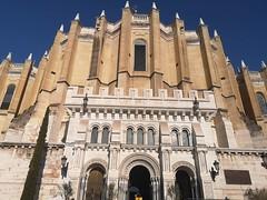 exterior Cripta Catedral Santa Maria la Real de la Almudena Madrid 02 (Rafael Gomez - http://micamara.es) Tags: exterior cripta catedral santa maria la real de almudena madrid