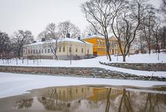 Domvillan ja Åhuset (Markus Heinonen Photography) Tags: turku åbo aurajoki aura river joki architecture arkkitehtuuri suomi finland europe reflection talvi winter city cityscape maisema scenery