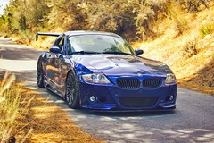 BMW E85 Z4M Voltex Type 7.5 Swan Neck Hamann Rieger VMR Wheels V801 APR Performance Splitter (violetnites) Tags: bmw e85 z4m voltex type 75 swan neck hamann rieger vmr wheels v801 apr performance splitter