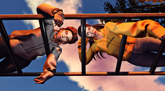 Just hanging (Rhea Rinq) Tags: secondlife besties