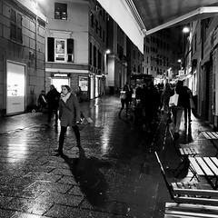 """San Lorenzo"" (giannipaoloziliani) Tags: sanlorenzo street capturestreets shadows lights people pioggia rain downtown streetlife streetphotography nikonphotography nikoncamera nikon liguria lightandshadow dark darkness blackandwhite biancoenero citynightlife city citylife night flickr genova genoa"