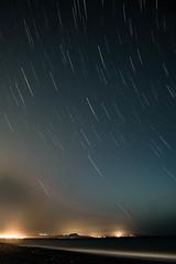Startrails am Strand (markusgeisse) Tags: startrails meer strand nacht kreta beach water stars langzeitbelichtung