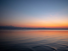 Silence / Stille (CHI@B) Tags: bodensee langenargen silence enjoythesilence sunset aftersunset horizon lakeconstance meditation stille autumn