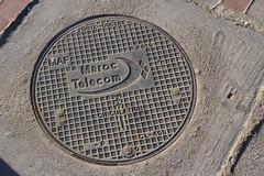 Maroc Telecom (So Cal Metro) Tags: manhole utility cover vault phone telephone communications telecommunications maroctelecom telecom morocco maroc marrakech