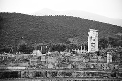 DSC_1139 (Kent MacElwee) Tags: blackandwhite epidavros epidaurus greece europe 6thcenturybc ancient ancientgreece healing sanctuary peloponnese historic theatre archaeologicalsite ruins sanctuaryofasklepios