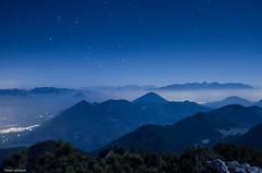 Stars, mountains and clouds (peter-goettlich) Tags: stars mountains clouds orion hochsalwand kaisergebirge chiemgauer kufstein pendling inntal
