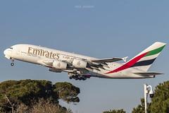 Airbus A380-861 A6-EEJ Emirates (msd_aviation) Tags: airbus airbusa380 a380 airbus380 a380800 a388 emirates flyemirates whale thewhale takeoff 4engine bcn lebl barcelona elprat airport barcelonaelprat aviation aviation4u aviationpics aviationlovers aviationfans spotting spotters planespotting planespotters a6eej