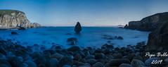 Mencer no Percebe (pepe_bello) Tags: opercebe praiadocoido ocoido ferrol ferrolterra galicia panorama largaexposicion mencer amanecer