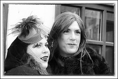 IMG_0295 (Scotchjohnnie) Tags: whitbygothweekendnovember2016 whitbygothweekend whitby wgw wgw2016 yorkshire northyorkshire goth gothic costume female people portrait photoshop streetphotography blackwhite mono monochrome canon canoneos canon7dmkii canonef24105mmf4lisusm scotchjohnnie