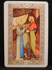 Two of Cups. (Oxford77) Tags: tarot thenorsetarot norse viking vikings cards card tarotcards