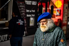 Papa smurf (gonzo4474) Tags: manhattan streetphotography streetphotographer nycstreets nyc
