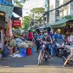 Busy Streets at Flower Market in Ho Chi Minh City thumbnail