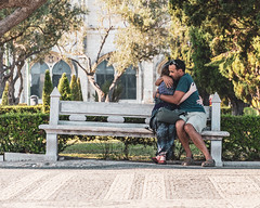 Lisbon   |   Embrace (JB_1984) Tags: man woman couple friends hug embrace candid street streetphotography belém lisbon lisboa portugal nikon d500 nikond500