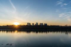 Rosslyn Sunset (edwarddwood) Tags: rosslyn arlingtoncountyva sunset potomacriver