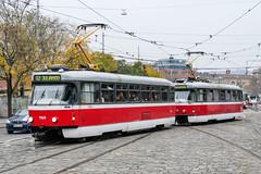 BRN_1569_201811 (Tram Photos) Tags: ckd tatra t3rev brno brünn strasenbahn tram tramway tramvaj tramwaj mhd šalina dopravnípodnikměstabrna dpmb t3