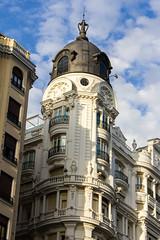 Hotel Atlantico antiguo dueño Marques de Falces arquitecto Joaquín Saldaña 1921 Gran Via 38 Madrid 02 (Rafael Gomez - http://micamara.es) Tags: esp españa granvia madrid hotel atlantico antiguo dueño marques de falces arquitecto joaquín saldaña 1921 gran via 38