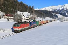 Auf der Pyhrnbahn! (C.Vitzthum) Tags: öbb 1144 1116 taurus nightjet pyhrnbahn
