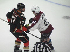 IMG_5097 (Dinur) Tags: hockey icehockey nhl nationalhockeyleague avalanche avs coloradoavalanche ducks anaheimducks