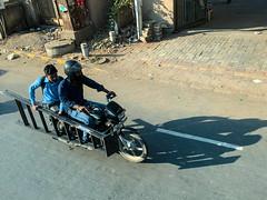 Ladder Transport (tim.klapdor) Tags: ahmedabad gujarat india in