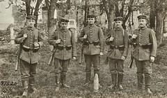 german infantrymen in Varennes on Argonne. Capture German negative ca1914 NARA111-SC-37520-ac (over 14 MILLION views Thanks) Tags: germanarmy ww1 worldwari france 19141918