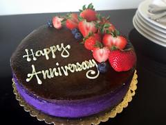 Happy Anniversary cake ♡