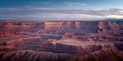 Dead Horse Point Panorama (Alex Basinov) Tags: deadhorsepoint canyonlands canyon utah moab nationalpark mountain sunset panorama panoramic scenic landscape southwest