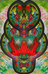 Vinegar & Oil Collaboration:  Cosmic Embryo (with Beth Rosengard) (Paul B0udreau) Tags: iphoneipad food photomanipulation art