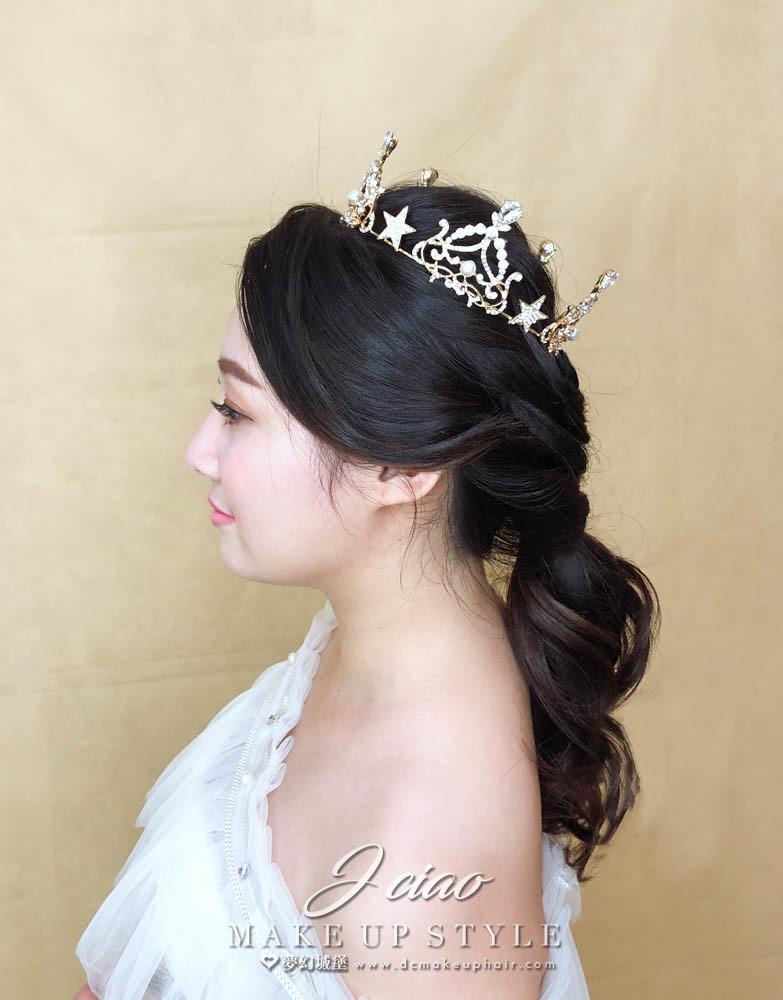 【新秘婕喬】新娘造型創作 / 韓系低馬尾造型